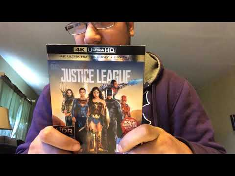 Justice League 4K Ultra HD Blu-Ray Unboxing