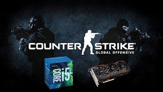 cs go tested on the g1 gaming gtx 1070 i5 6600k stock 3 5ghz
