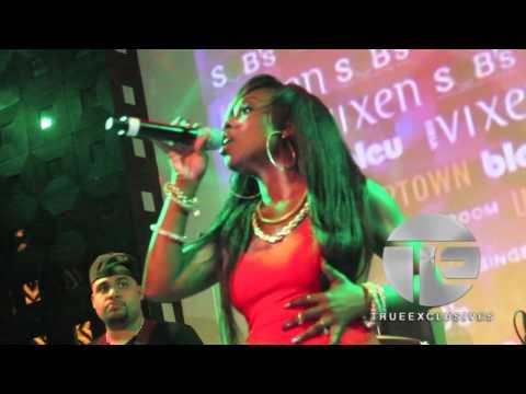 R&B Diva Meelah Performs
