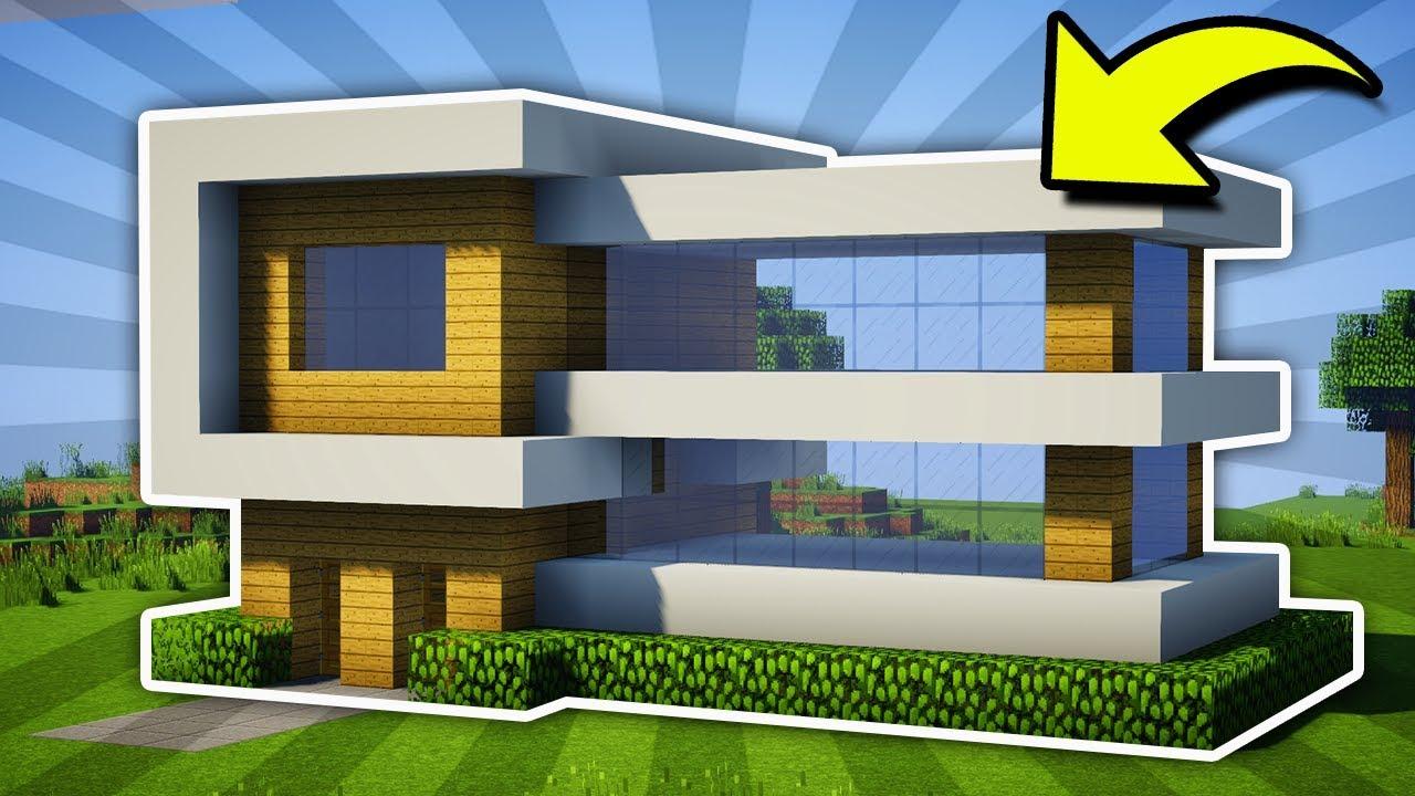 Minecraft   Large Modern Mansion Tutorial   1   Pc  Xboxone  Ps4  Pe  Xbox360  Ps3