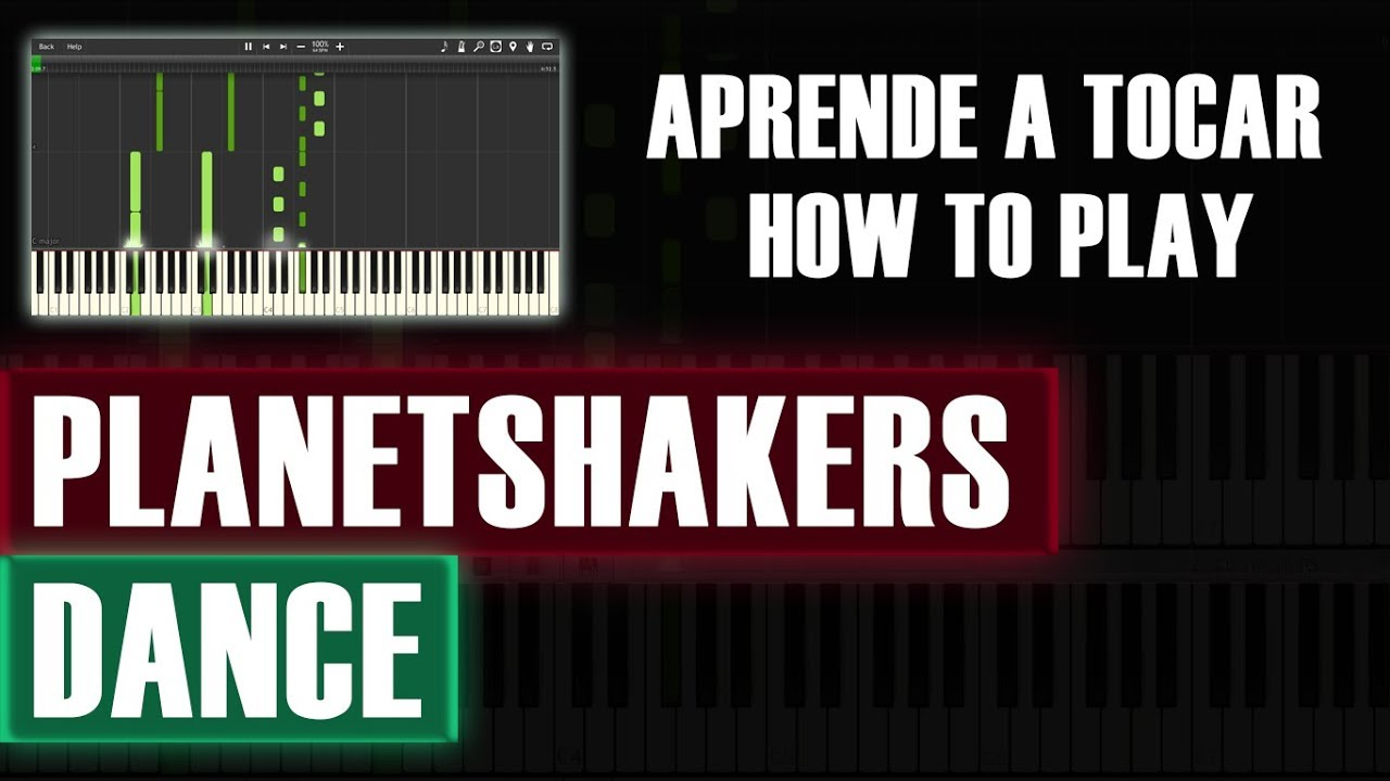 dance planetshakers piano tutorial how to play with dubstep