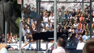 Street Workout World Championship 2013 1st ANDZEJUS ZILO Lithuania   YouTube Thumbnail