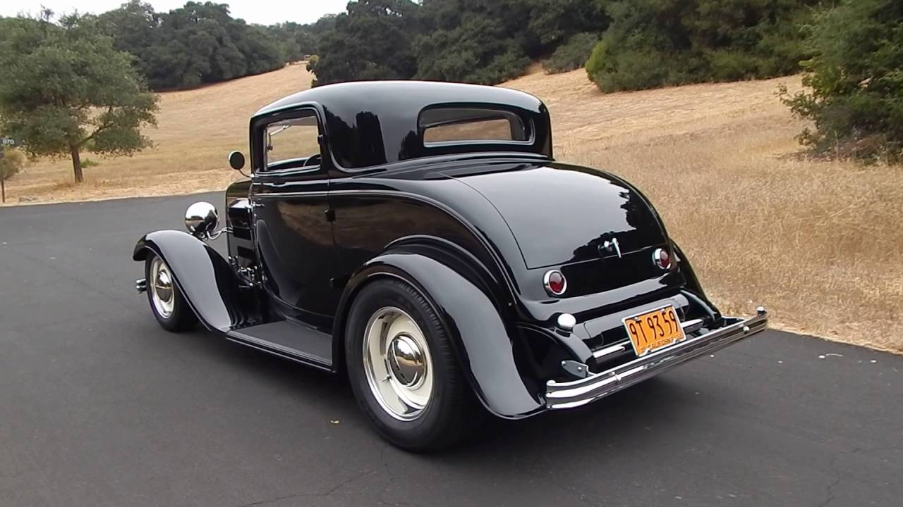 1932 ford 3 window coupe henry steel brizio chassis youtube for 1932 3 window ford