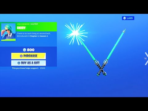 *NEW* VOLT BATONS..! (Item Shop) Fortnite Battle Royale