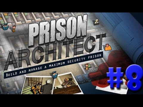 Prison Architect - SALA DE AULA, BIBLIOTECA, OFICINA E IGREJA!!! #8 (Gameplay / PC / PTBR) HD