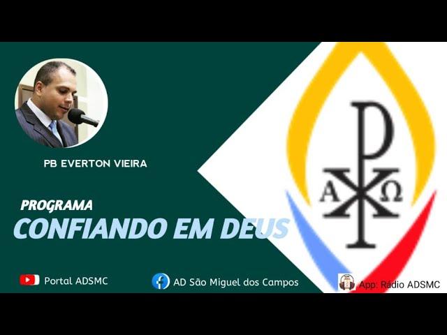 Programa Confiando em Deus - 13/10/2021