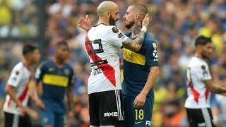 Los encuentros mas importantes entre BOCA JUNIORS y RIVER PLATE por Copa Libertadores