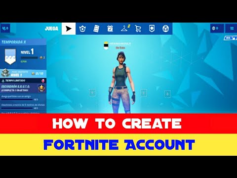 How To Create Fortnite Account 2019 ( Epic Games Account )