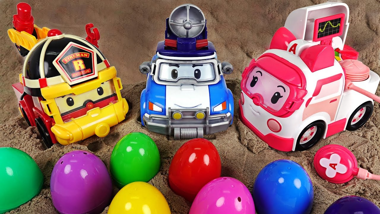 Download Upgrade Robocar Poli, Roy, Ember Gear Up!! Rescue our troubled friends! - DuDuPopTOY