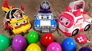 Upgrade Robocar Poli, Roy, Ember Gear Up!! Rescue our troubled Tayo friends! - DuDuPopTOY