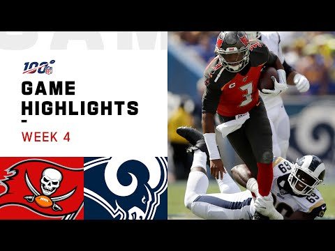 Anne Erickson - Rams vs. Buccaneers Week 4 Highlights