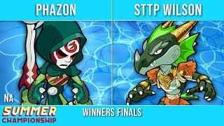 Phazon vs STTP Wilson - Winners Finals - Summer Championship NA Top 3