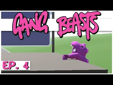 Gang Beasts Multiplayer - Ep. 4 - The Great Kicking Contest! - Online Gang Beasts Gameplay