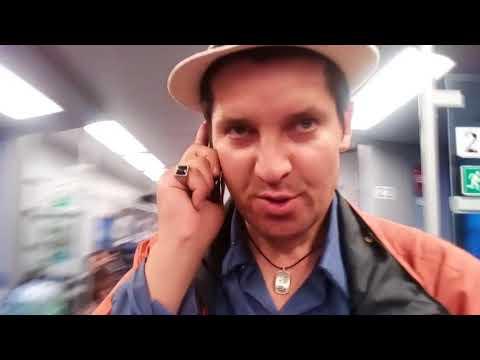 """На """"Ласточке"""" с Белорусского вокзала. Из Москвы на поезде в Вязьму. Обзор. Встретили Рому Печёнкина"""