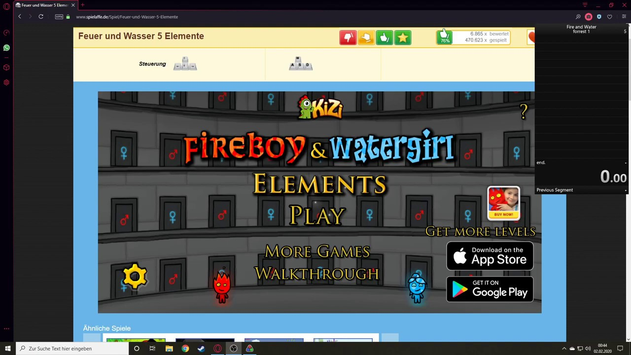 Feuer Wasser 5