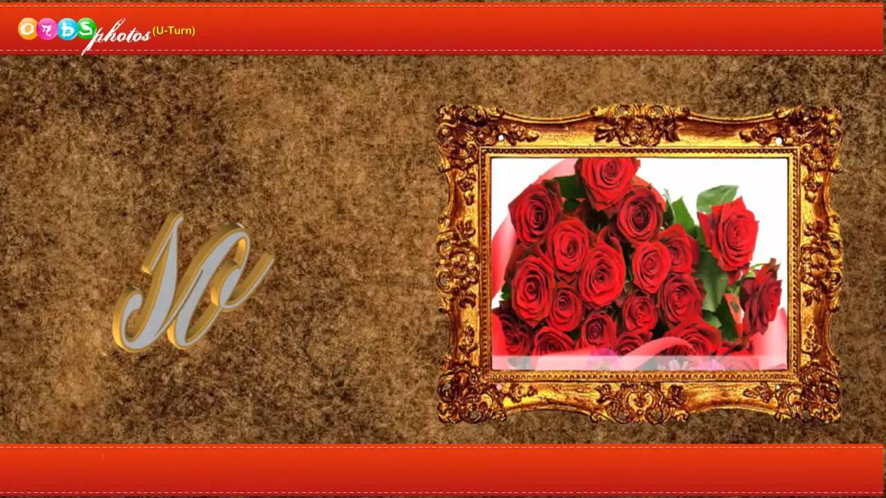 Beautiful love animated roses greeting youtube izmirmasajfo