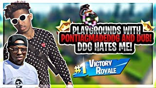 DBoy & VonVonTV VS DDG & DUB In Playground!! Hilarious GamePlay *Gets Personal* PART 2 (Fortnite - B
