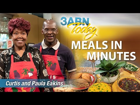 """3ABN Today Cooking - """"Meals in Minutes"""" with Curtis & Paula Eakins (TDYC190008)"""