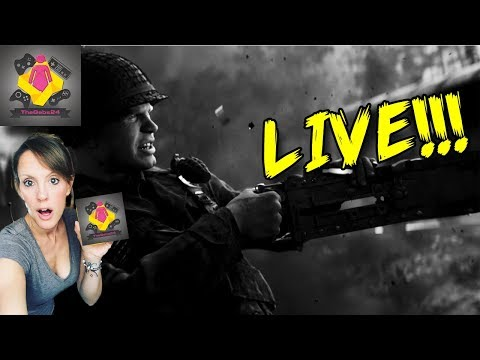 🔴 Call Of Duty WW2 Multiplayer LIVE STREAM CoD WWII | Sunday HAMMERING | 🔴 TheGebs24
