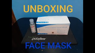 53 Unboxing Disposable Face Mask