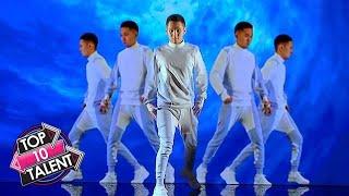10 UNIQUE LIGHT ART Auditions On Got Talent Around The World!