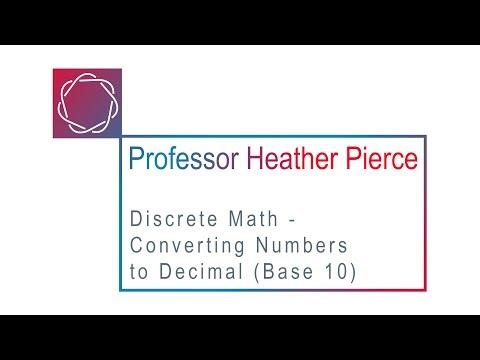 Converting Numbers to Decimal (Base 10)