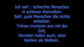 Haftbefehl ft  Jonesmann   Narben bleiben  Lyrics