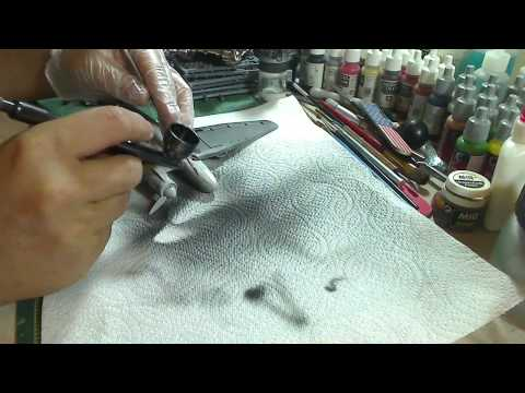 Airbrushing for the Beginner #4: Basic Usage and Some Airbrushing Techniques