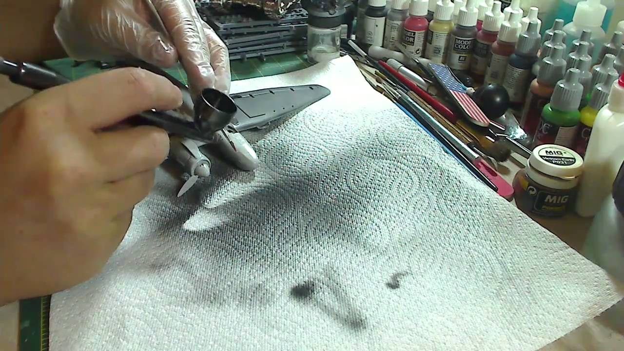 Airbrushing For The Beginner 4 Basic Usage And Some