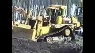Forexpo, Bordeaux, 2002.  Cat Ecolog 6x6 forestry vehicles