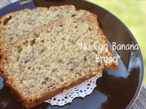 Banana cake recipes without eggs