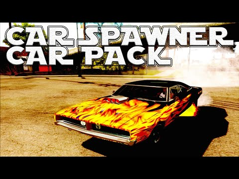 GTA San Andreas Mods - Car Pack with Autoinstall + Car Spawner [SA][PACK][CLEO][HQ][1080p] - GTA San Andreas Mods