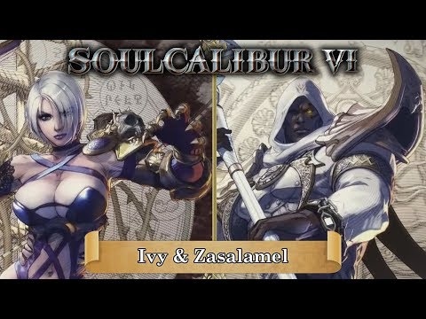 Soulcalibur VI: Ivy and Zasalamel reveal trailer with live reaction!