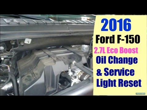 2016 Ford F150 2 7l Oil Change Service Reminder