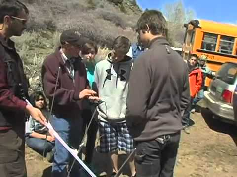 Borah High kids learn about sage grouse in Owyhee County