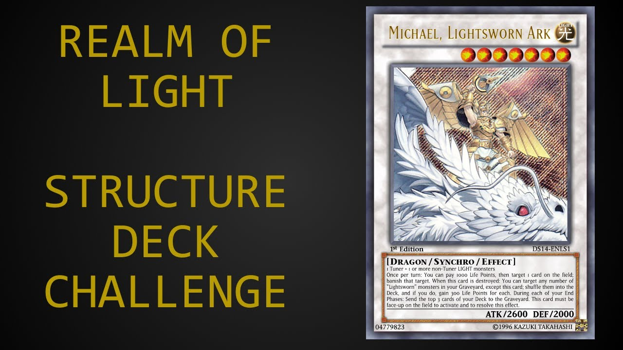 Yu gi oh realm of light structure deck challenge youtube yu gi oh realm of light structure deck challenge mozeypictures Images