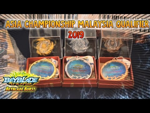 Beyblade Burst Asia Championship Malaysia Qualifier 2019 - Road to Korea - CHO-Z SONG OPENING