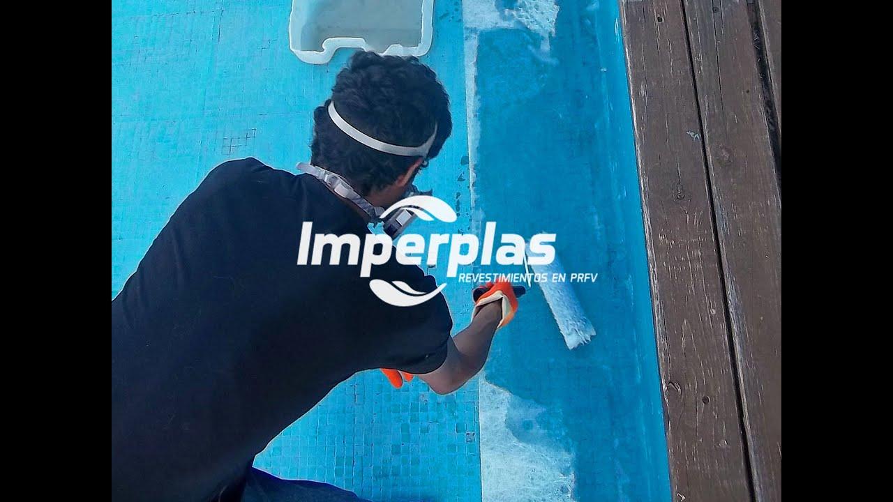 Impermeabilizaci n de piscinas de hormig n con fibra de - Piscinas de fibra ...