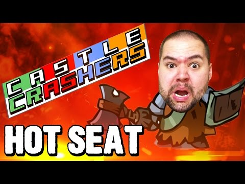 THAT'S BARBARIC!!! | Hot Seat (Castle Crashers Remastered)