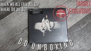 """Billie Eilish: """"When We All Fall Asleep Where Do We Go?"""" TARGET EXCLUSIVE CD UNBOXING   Olivia Rena"""