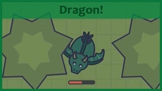 Moomoo.io - NEW RARE DRAGON ANIMAL! Update idea with gameplay! (w/ fan arts)