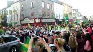 Kerry Team bring Sam to Tralee Co.Kerry 2014 Homecoming HD