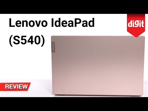 Tested! Lenovo IdeaPad S540 Laptop Review