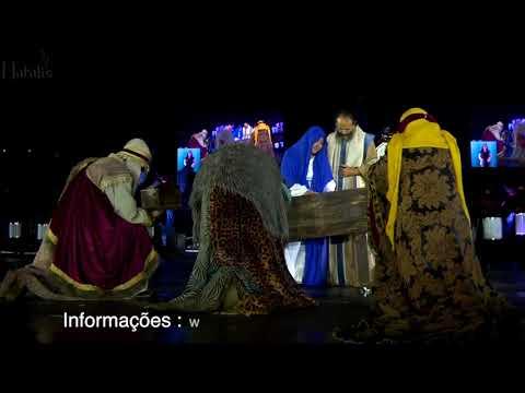 Espetáculo Illumination o Show do Lago na voz de Cid Moreira - O Natal da Gratidão