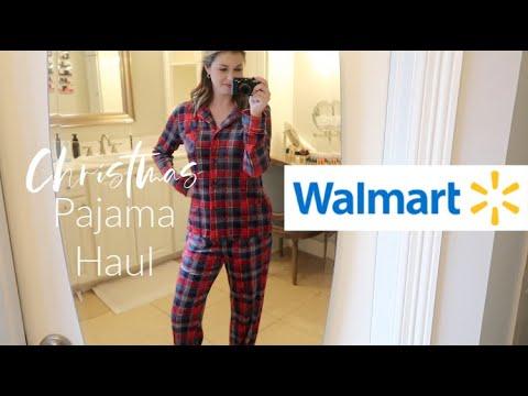 Walmart Christmas Pajama Haul! | OMG