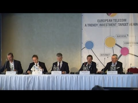 NMHH conference on investment in the telecom sector: Session 3 -- 4/12/2013