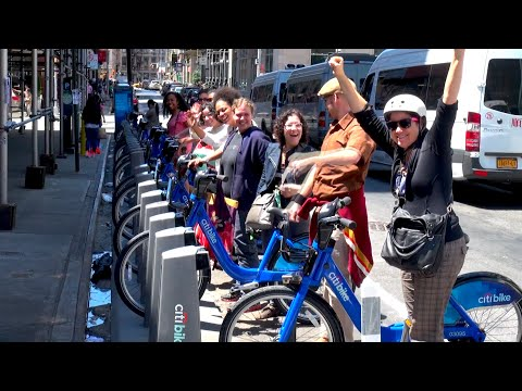 Citbike Debuts in NYC!