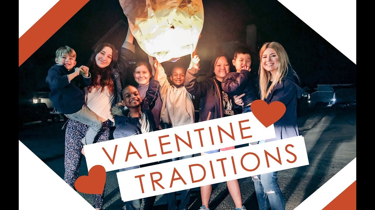 OUR BIG FAMILY VALENTINE'S TRADITION   RELEASING THE ...