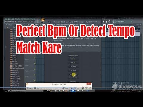 Kisi Bhi Song Ko Uski Perfect Bpm Or Detect Tempo Match Kare | Fl Studio