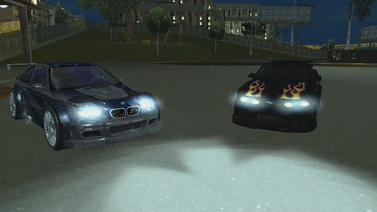 Descargar bmw m3 gtr y ford mustang gt de need for speed most wanted para gta san andreas